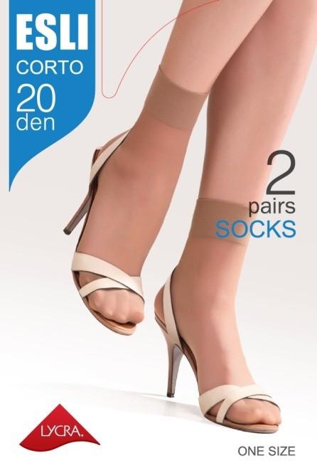 Носки женские капроновые ESLI Corto 20