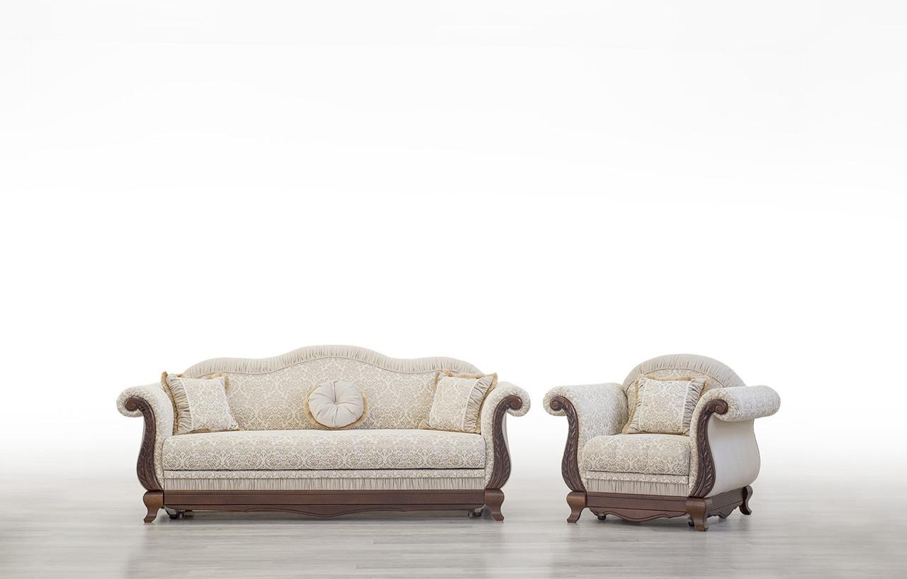 Кресло Лилея нераскладное Мебус