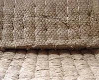 Маты базальтовые прошивные на металлической сетке 100мм