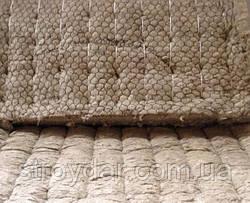 Базальтовые прошивные маты с металлической сеткой 100мм