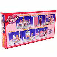 Детская игрушечная мебель Глория Gloria для кукол Барби Спальня 2319. Обустройте кукольный домик, фото 7