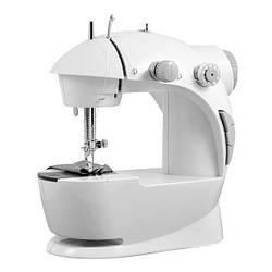 Міні швейна машинка 4 в 1 з педаллю FHSM 201 + адаптер 220 (1249)