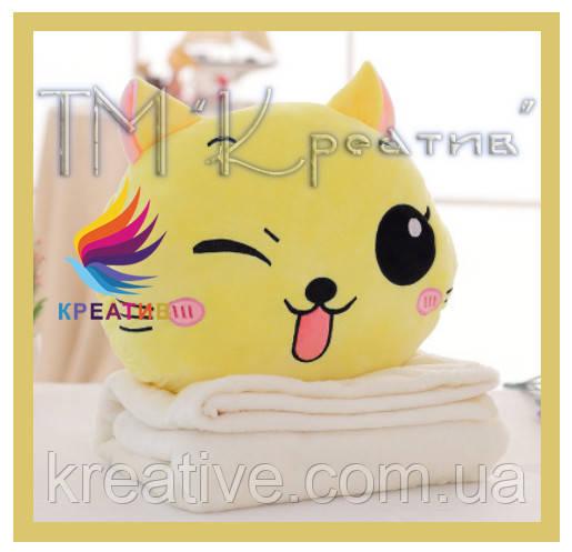 Декоративные подушки под заказ котики с Вашим логотипом (от 100 шт)