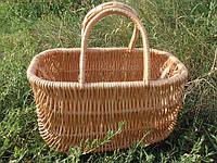 Корзина-сумка, плетенная из лозы , фото 1