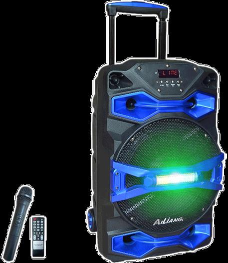 Портативна Bluetooth колонка Ailiang UF-1618AK-DT з мікрофоном, акумуляторна акустика