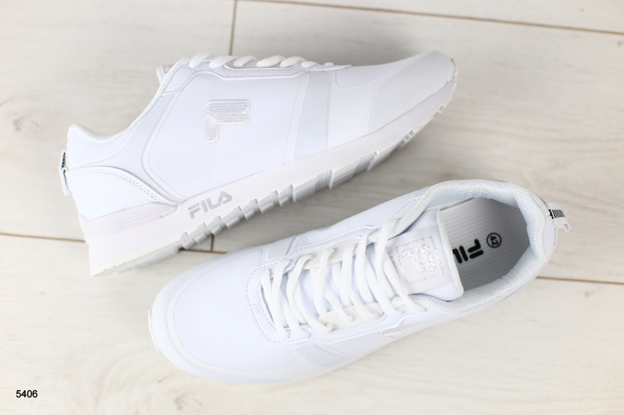 ef92e27a Мужские кроссовки, белые, из натуральной кожи: продажа, цена в ...