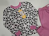 Пижама теплая для девочки (р.110) ТМ Бемби, фото 4