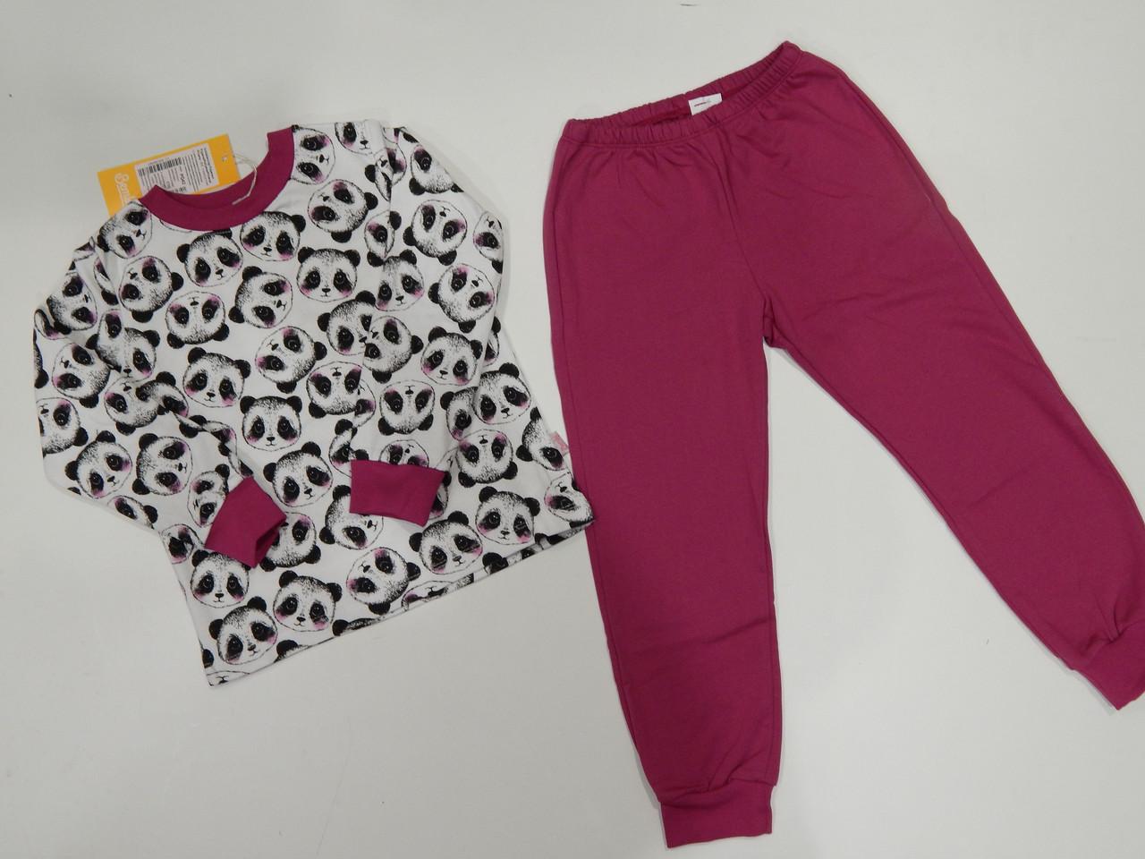 Пижама теплая для девочки (р.110) ТМ Бемби
