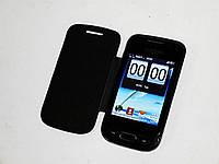 "Samsung S800 на 2 сим, экран 3.2"", крышка- чехол black, фото 1"