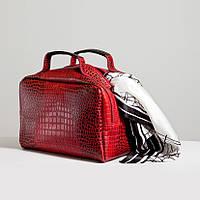 Кожаная сумка модель 6 кайман_склад , фото 1