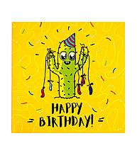 "Открытка- шоколадка ""Happy birthday!"""