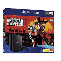 Sony PlayStation 4 Pro 1TB + Red Dead Redemption 2