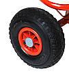 Тачка Садовая на 4-х колёсах Тележка с тентом, фото 5