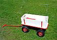 Тачка Садовая на 4-х колёсах Тележка с тентом, фото 9