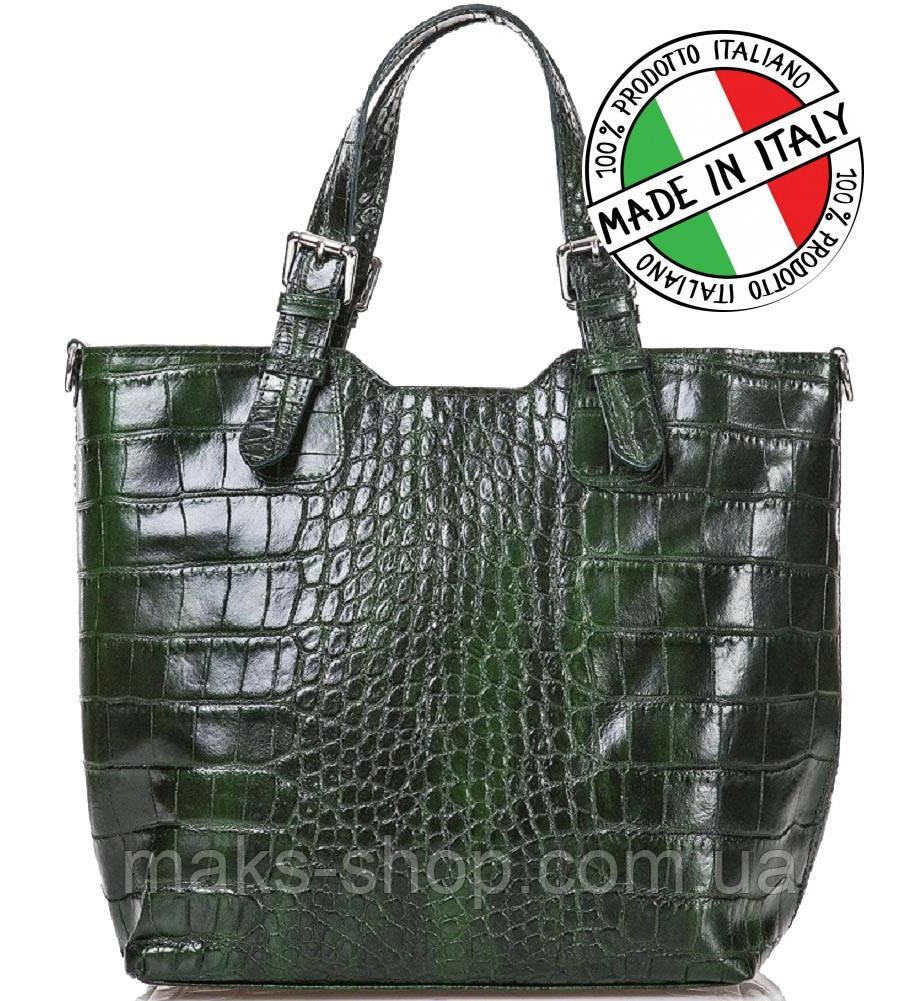 864e16caecc4 Женская сумка Итальянской кожи под крокодила Bottega Carele BC145 - Maks  Shop- надежный и перспективный