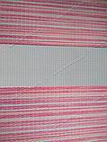 Ролета День-Ночь Лайм в полоску C-275 розовый/белый/малиновый, фото 2