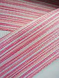 Ролета День-Ночь Лайм в полоску C-275 розовый/белый/малиновый, фото 4
