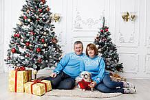 Свитера новогодние для пары.Цена за 2 свитера.