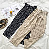Женские штаны со шнуровкой с принтом в расцветках. СК-1-1218, фото 2