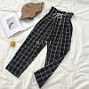 Женские штаны со шнуровкой с принтом в расцветках. СК-1-1218, фото 4