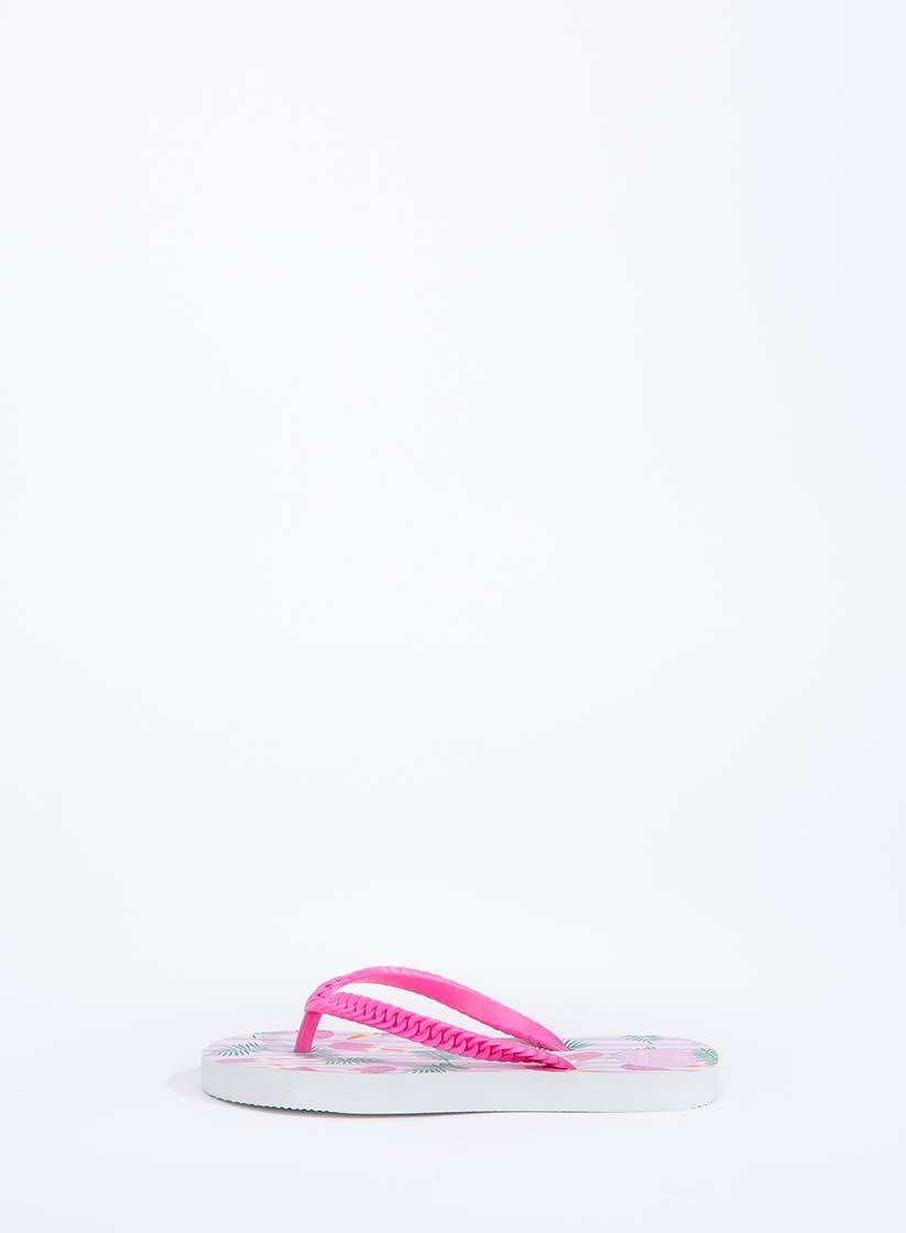 b632750eb Легкие Шлепанцы Вьетнамки Для Девочек Подростков Через Палец С Ярким  Принтом TIFFOSI Португалия.
