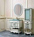 Зеркало Атолл (Ольвия) Флоренция 75 ivory old + синяя патина, фото 2