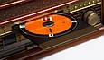 Деревянный Грамофон Проигрыватель CAMRY CR 1111 Радио CD USB Mp3  + Пульт, фото 7