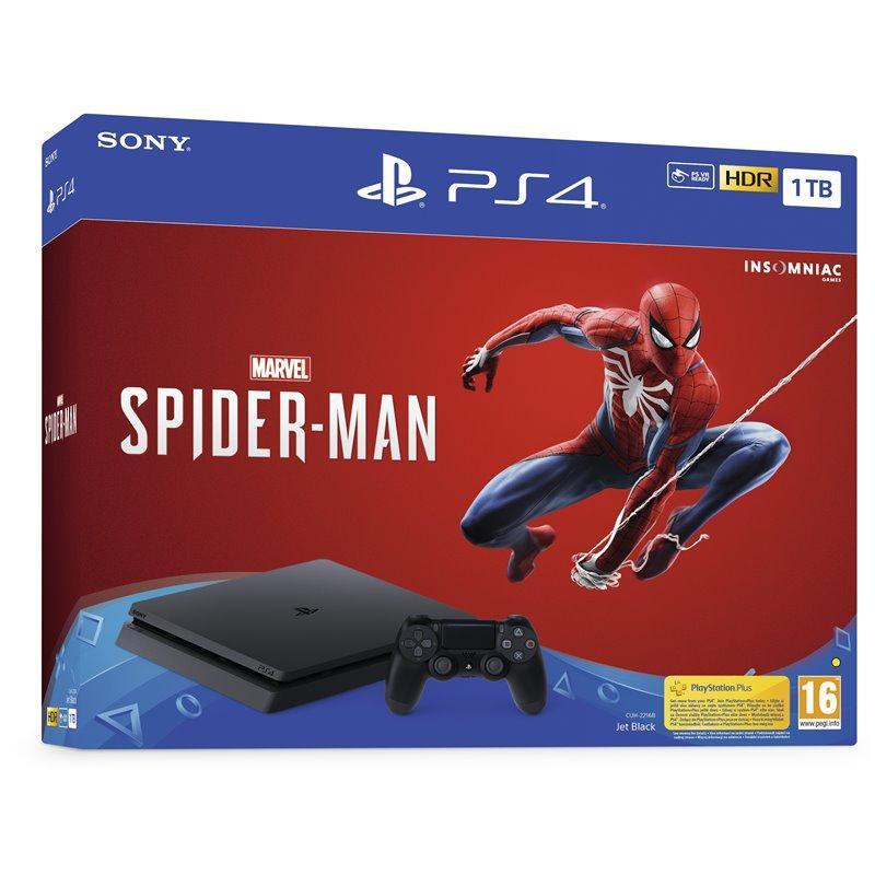 Sony PlayStation 4 Slim 1TB + Marvel's Spider-Man