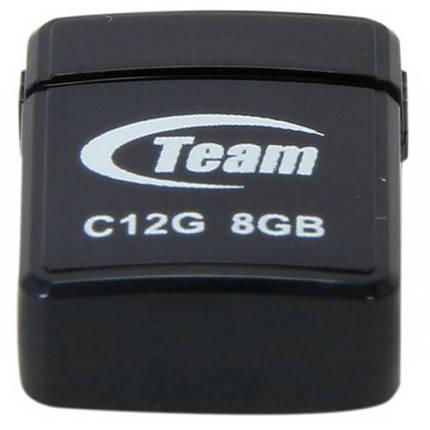 USB флеш накопитель Team 8GB C12G Black USB 2.0 (TC12G8GB01), фото 2