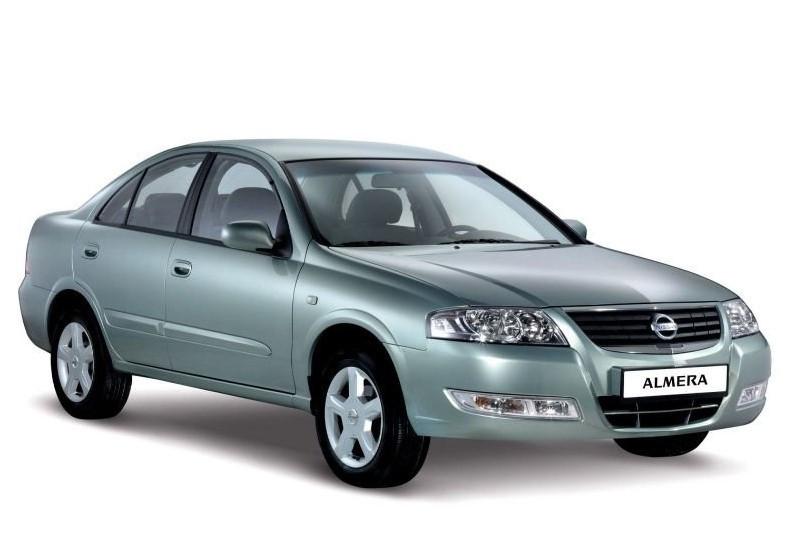 Лобовое стекло на Nissan Almera N16 (Хетчбек) (2000-2006)
