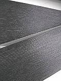 Рулонні штори День-Ніч Багама модерн C-208 чорний графіт блиск, фото 6