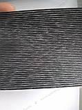 Рулонні штори День-Ніч Багама модерн C-208 чорний графіт блиск, фото 7