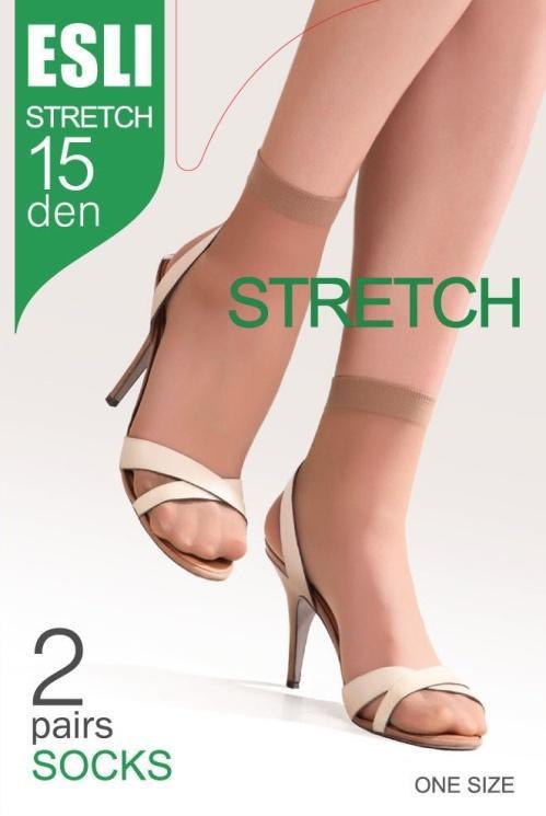 Носки женские капроновые ESLI Stretch 15