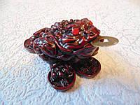 Статуэтка Денежная лягушка размер 7*6*4 см, фото 1