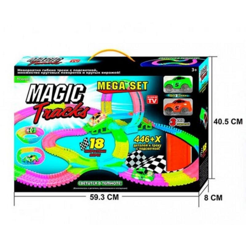 Гоночный трек Magic Track PT 446 гнется