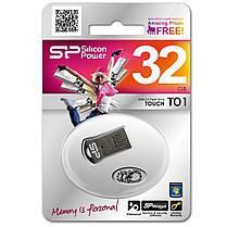 USB флеш накопитель Silicon Power 32GB Touch T01 Black (SP032GBUF2T01V3K), фото 3