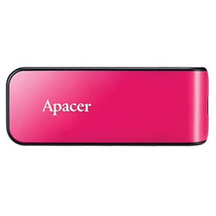 USB флеш накопитель Apacer 64GB AH334 pink USB 2.0 (AP64GAH334P-1), фото 2