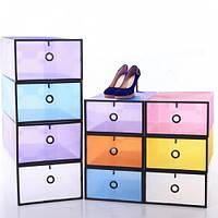 Органайзер контейнер для обуви и мелочей Blue