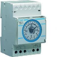 Таймер аналоговий добовий, 16А, 1 перемикаючий контакт, запас ходу 200 год, 3м., фото 1
