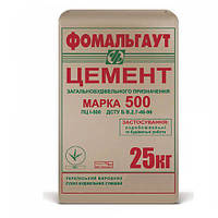 Цемент М500 Д0 (25 кг) Фомальгаут-Полимин