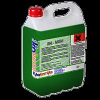 Uni-Muni 1 л концентрированное низкопенное моющее средство для ухода за ковровыми покрытиями