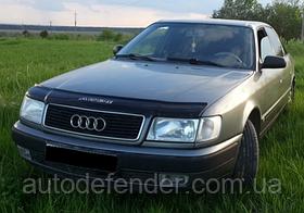 Дефлектор капота (мухобойка) Audi 100 C4 1990-1994, Vip Tuning, AD02