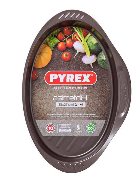 Форма PYREX Asimetria 35x23 cm овальная (AS35OR0)