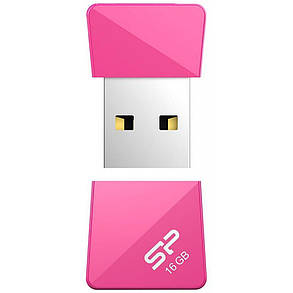 USB флеш накопитель Silicon Power 16Gb Touch T08 Peach USB 2.0 (SP016GBUF2T08V1H), фото 2