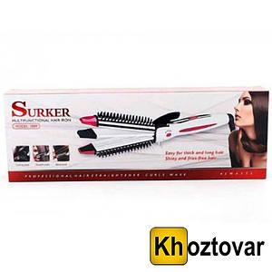 Плойка -Утюжок щипцы для волос Surker 2089