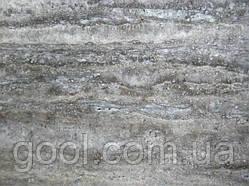 Травертин Classic Silver (Серебро Классический) 610х610х12 мм. плитка шлифованная матовая