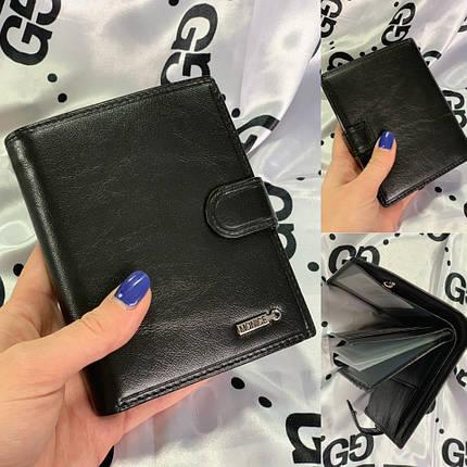 Кожаное мужское портмоне - бумажник 1052, фото 2