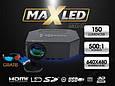 Мультимедійний проектор LED HDMI USB XB!!Супер !!, фото 2