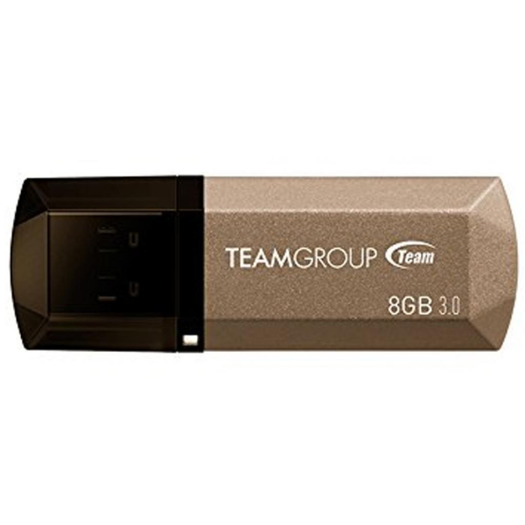 USB флеш накопитель Team 8GB C155 Golden USB 3.0 (TC15538GD01)