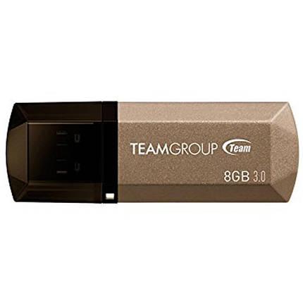 USB флеш накопитель Team 8GB C155 Golden USB 3.0 (TC15538GD01), фото 2